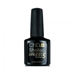 画像1: 【CND 】Shellac・Xpress5トップコート0.5oz / 15ml