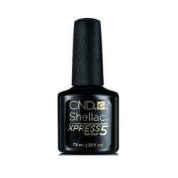 画像1: 【CND  】Shellac・Xpress5トップコート  0.25oz / 7.3ml